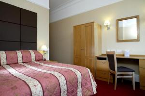 The Bedrooms at Best Western Abbey Hotel