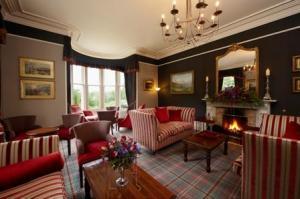 The Bedrooms at Dunain Park Hotel