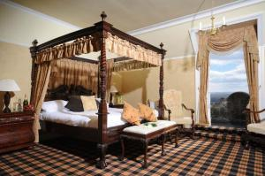 The Bedrooms at Tulloch Castle Hotel