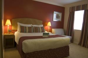 The Bedrooms at Holiday Inn Manchester West