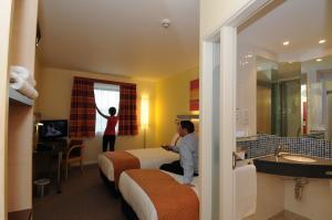 The Bedrooms at Holiday Inn Express Burnley