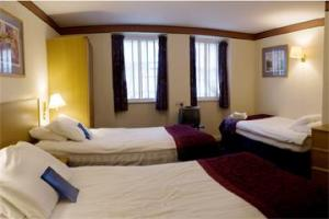 The Bedrooms at Grassmarket Hotel