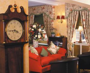 The Bedrooms at The Angel And Royal Hotel