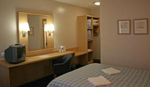 The Bedrooms at Travelodge Belfast
