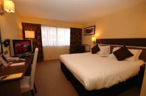 The Bedrooms at Ramada Swansea
