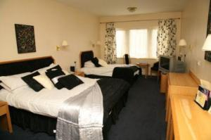 The Bedrooms at Rendez-vous At Skipton