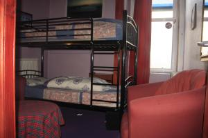 The Bedrooms at Globetrotters Students Hotel