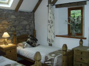 The Bedrooms at Auchterawe Country House