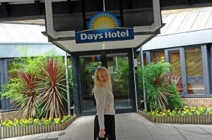 The Bedrooms at Days Hotel Waterloo