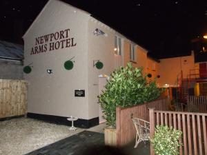 The Bedrooms at Newport Arms Hotel