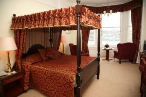 The Bedrooms at The Fowey Hotel