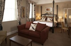 The Bedrooms at Bull Hotel