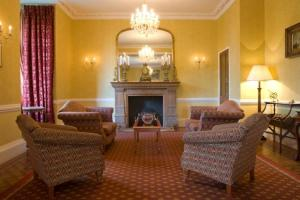 The Bedrooms at Auchen Castle Hotel