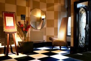 The Bedrooms at Malmaison Edinburgh