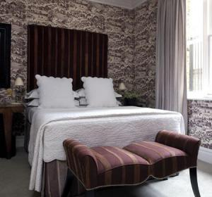 The Bedrooms at Charlotte Street Hotel