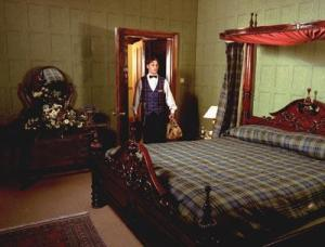 The Bedrooms at Dalhousie Castle and Spa