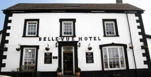 The Bedrooms at Belle Vue Hotel