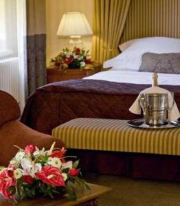 The Bedrooms at Macdonald Kilhey Court Hotel