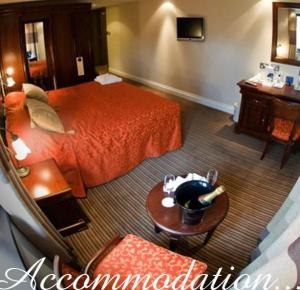 The Bedrooms at Casa Dei Cesari Hotel