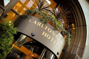 The Bedrooms at Carlton George Hotel