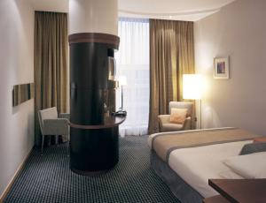 The Bedrooms at Radisson SAS Hotel Glasgow