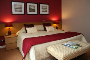 The Bedrooms at Best Western Dower House