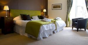 The Bedrooms at Swan At Forton