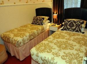 The Bedrooms at Valentine Private Hotel