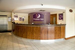 The Bedrooms at Premier Inn Stevenage Central