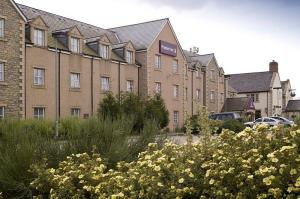 The Bedrooms at Premier Inn Aberdeen Westhill