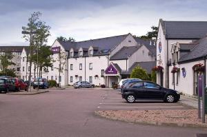 The Bedrooms at Premier Inn Aberdeen Central West