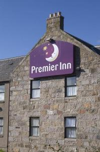 The Bedrooms at Premier Inn Aberdeen North