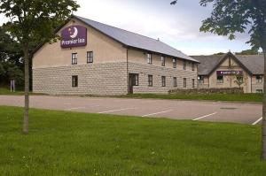 The Bedrooms at Premier Inn Aberdeen South