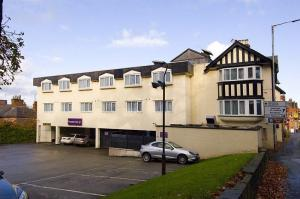 The Bedrooms at Premier Inn Alderley Edge