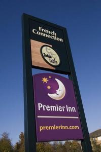 The Bedrooms at Premier Inn Ashford Central