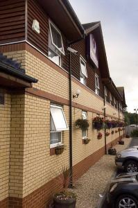 The Bedrooms at Premier Inn Barnstaple