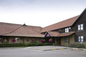 The Bedrooms at Premier Inn Basildon South
