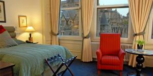 The Bedrooms at The Scotsman Hotel