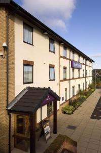 The Bedrooms at Premier Inn Blackburn South