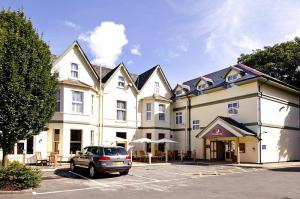The Bedrooms at Premier Inn Bournemouth East
