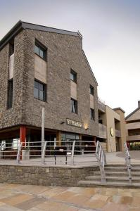 The Bedrooms at Premier Inn Caernarfon
