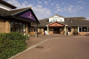 The Bedrooms at Premier Inn Cardiff City South