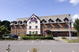 The Bedrooms at Premier Inn Christchurch West