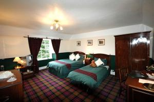 The Bedrooms at Glenmoriston Arms Hotel