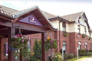 The Bedrooms at Premier Inn Glasgow (Bellshill)