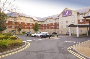 The Bedrooms at Premier Inn Birmingham NEC