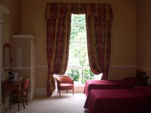The Bedrooms at Ailsa Craig Hotel