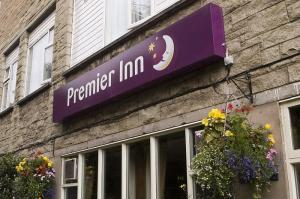 The Bedrooms at Premier Inn Edinburgh East