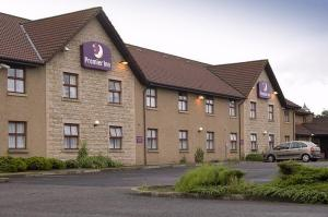 The Bedrooms at Premier Inn Falkirk North