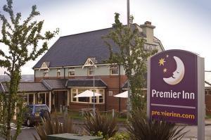 The Bedrooms at Premier Inn Greenock